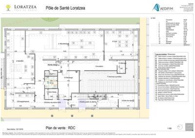 G.O. Santé : Plan de bâtiment pour les professionnels de santé