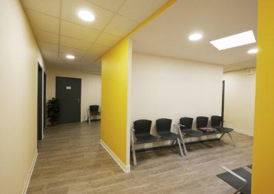 Salle d'attente de maison de santé de Jurançon du premier étage